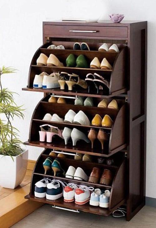 Tủ giày cánh lật