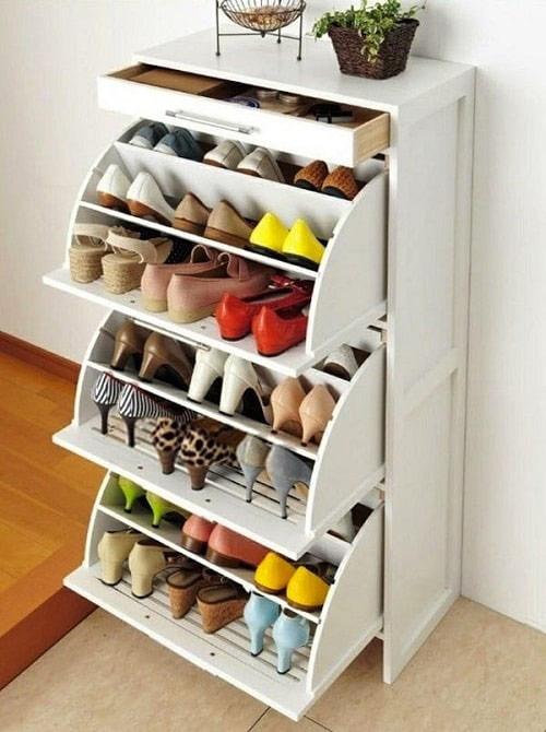 Tủ giày thông minh mini