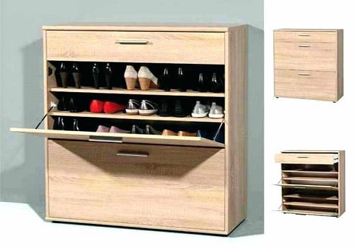Tủ giày thiết kế đẹp, gọn gàng