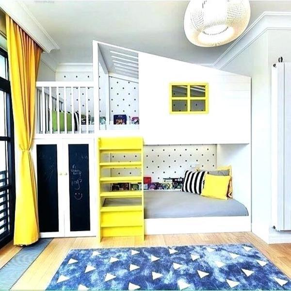 giường tầng cho trẻ con thiết kế phá cách