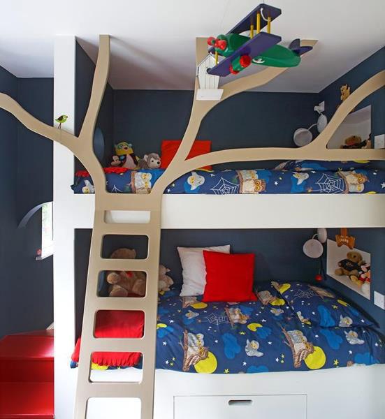 giường tầng thiết kế phù hợp không gian