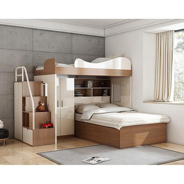 giường tầng bằng gỗ công nghiệp