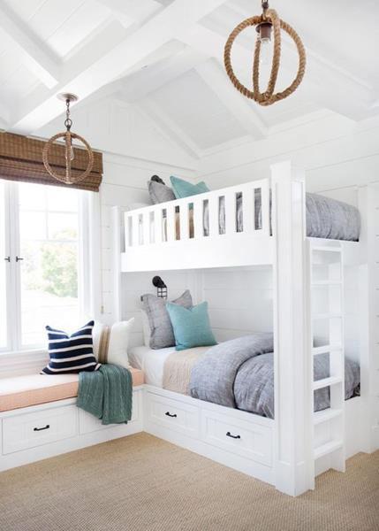 giường tầng cho phòng áp mái