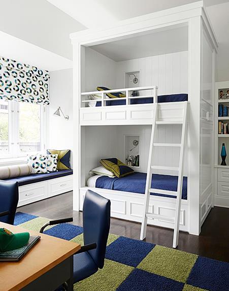 giường tầng phối màu đẹp và nổi bật