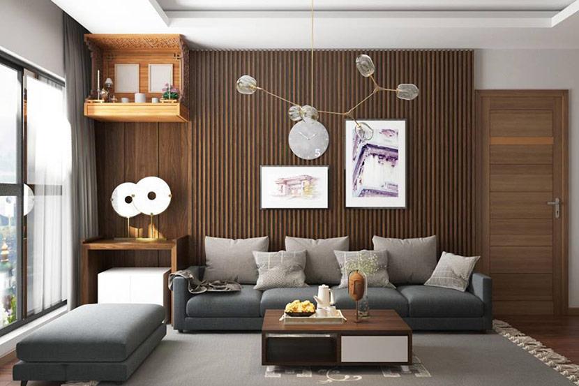 nội thất gỗ công nghiệp trẻ trung và năng động 6