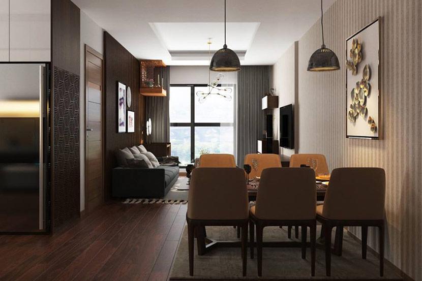nội thất gỗ công nghiệp trẻ trung và năng động 7