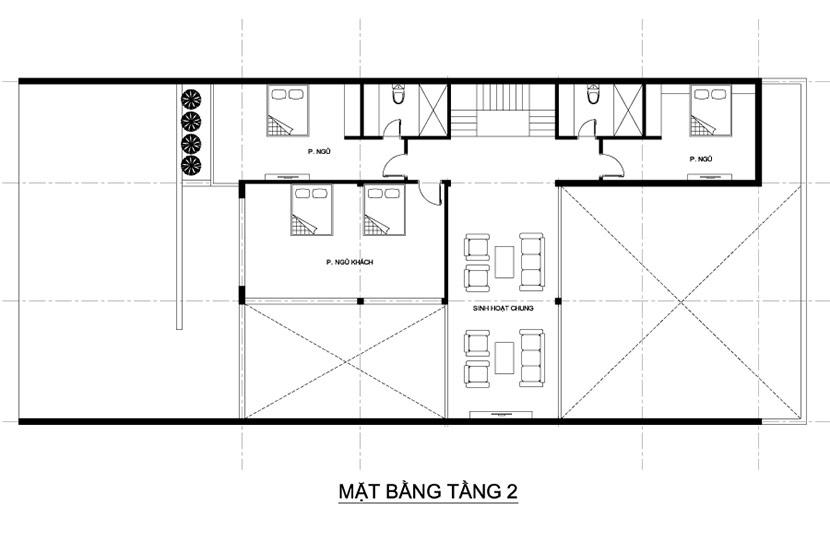 thiết kế thi công biệt thự 3 tầng hiện đại có bể bơi bt 230719 20