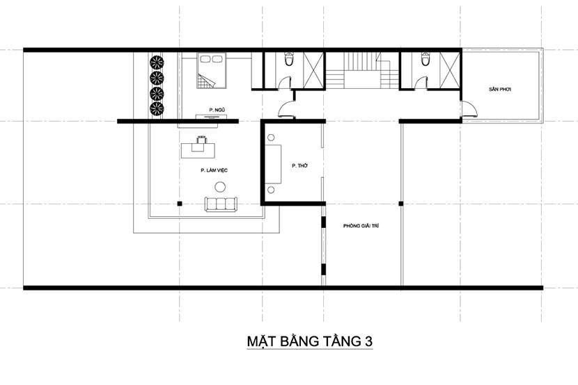 thiết kế thi công biệt thự 3 tầng hiện đại có bể bơi bt 230719 21
