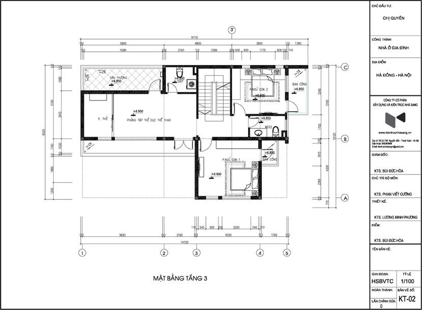 thiết kế thi công biệt thự hiện đại 3 tầng bt 120210 15
