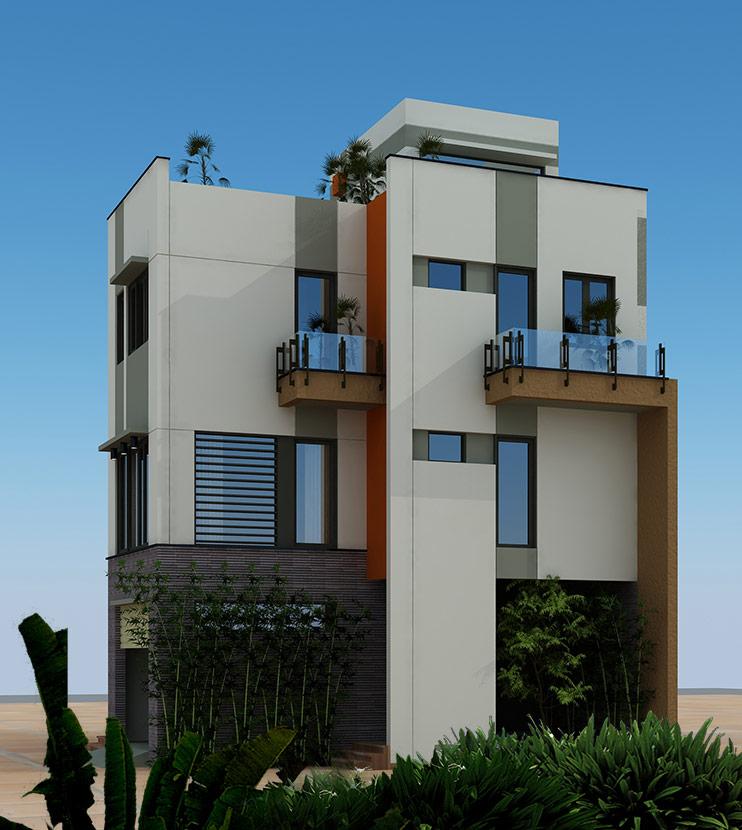 thiết kế thi công biệt thự hiện đại 3 tầng bt 120210 3