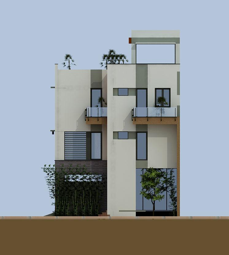 thiết kế thi công biệt thự hiện đại 3 tầng bt 120210 4