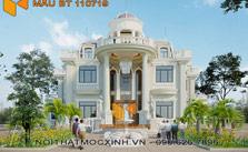 thiết kế thi công biệt thự tân cổ điển BT 110719 15