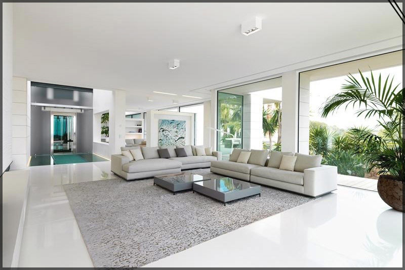 thiết kế thi công nội thất biệt thự hiện đại có bể bơi 03