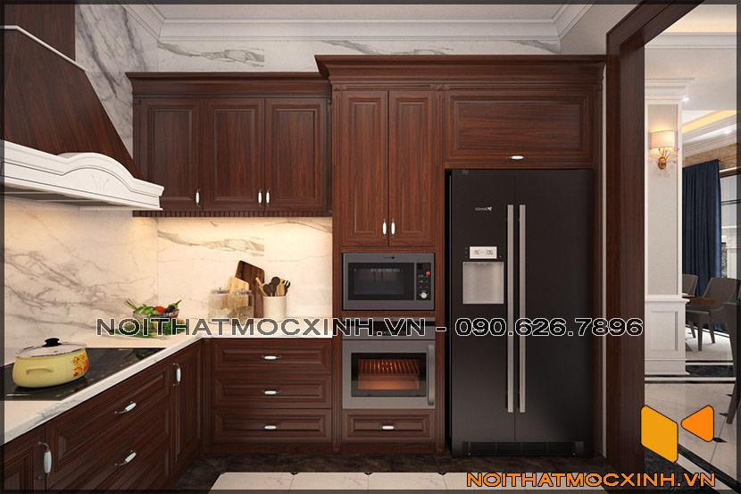 thiết kế thi công nội thất biệt thự tân cổ điển 3 tầng 01