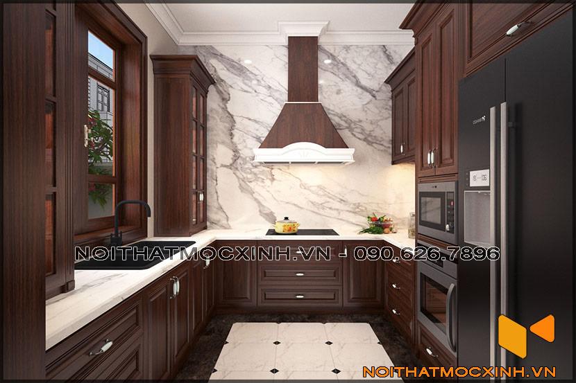thiết kế thi công nội thất biệt thự tân cổ điển 3 tầng 02
