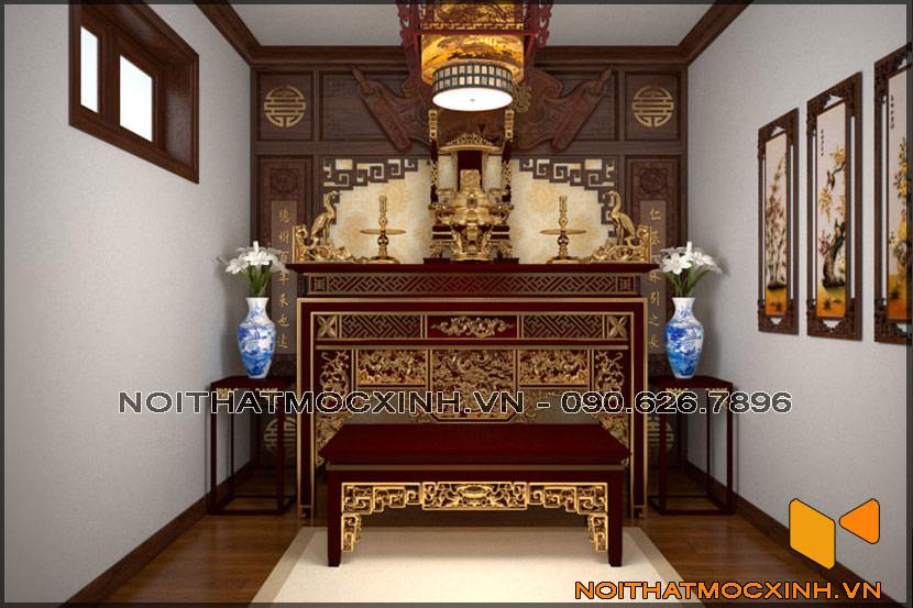thiết kế thi công nội thất biệt thự tân cổ điển 3 tầng 06