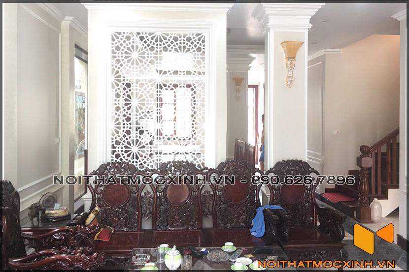 thiết kế thi công nội thất biệt thự tân cổ điển 3 tầng 09
