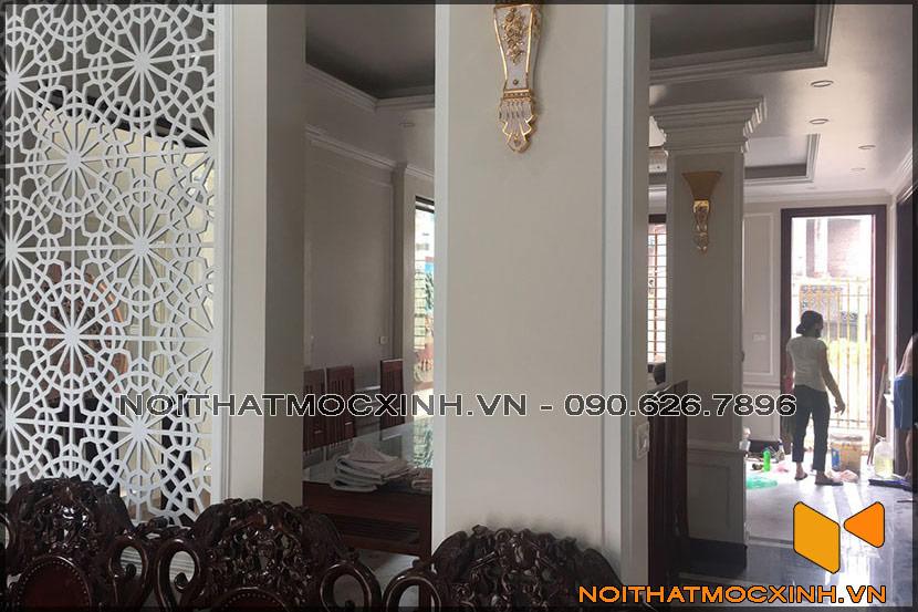 thiết kế thi công nội thất biệt thự tân cổ điển 3 tầng 13