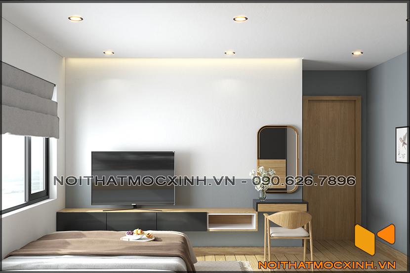 Thiết kế thi công nội thất căn hộ chung cư 90 nguyễn tuân 03
