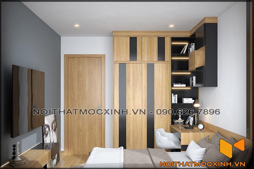 Thiết kế thi công nội thất căn hộ chung cư 90 nguyễn tuân 04
