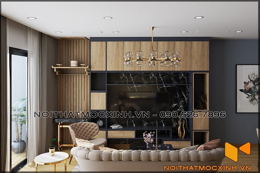 Thiết kế thi công nội thất căn hộ chung cư 90 nguyễn tuân 06