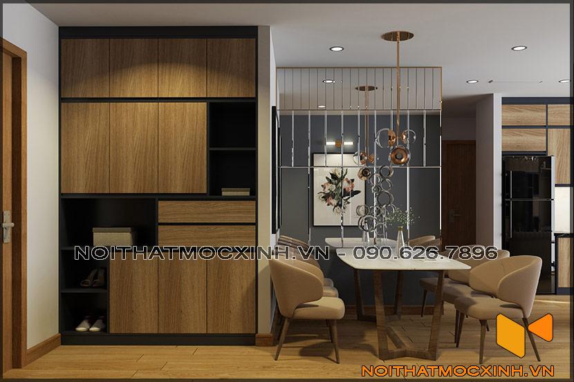 Thiết kế thi công nội thất căn hộ chung cư 90 nguyễn tuân 07