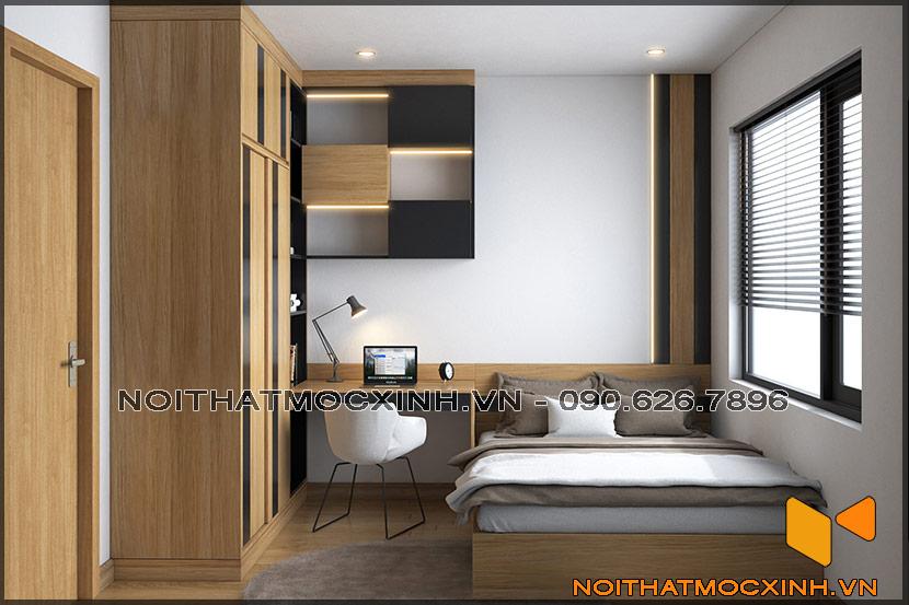 Thiết kế thi công nội thất căn hộ chung cư 90 nguyễn tuân 08
