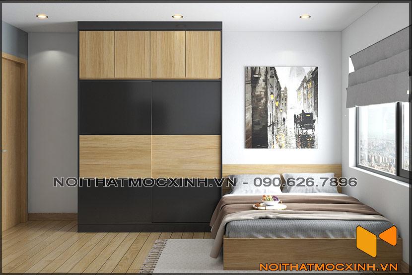 Thiết kế thi công nội thất căn hộ chung cư 90 nguyễn tuân 13