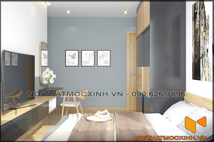 Thiết kế thi công nội thất căn hộ chung cư 90 nguyễn tuân 14