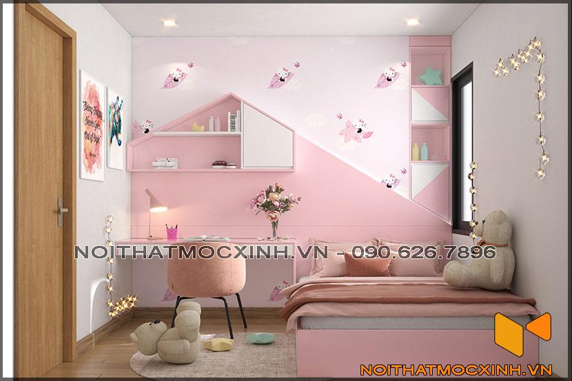 Thiết kế thi công nội thất căn hộ chung cư 90 nguyễn tuân 15