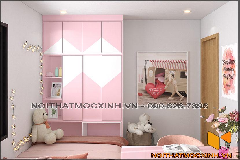 Thiết kế thi công nội thất căn hộ chung cư 90 nguyễn tuân 16
