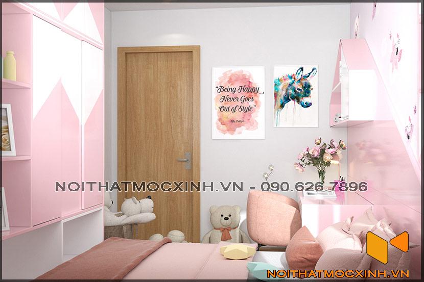 Thiết kế thi công nội thất căn hộ chung cư 90 nguyễn tuân 17