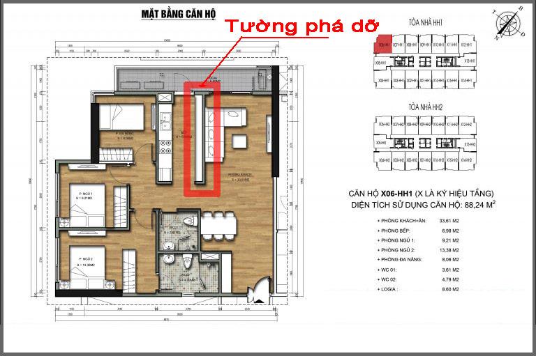 Thiết kế thi công nội thất căn hộ chung cư 90 nguyễn tuân 18 1