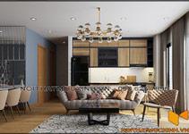 Thiết kế thi công nội thất căn hộ chung cư 90 nguyễn tuân 19 1