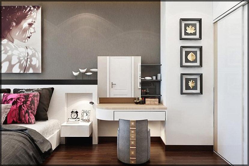 thiết kế thi công nội thất căn hộ chung cư Stellar Garden 006