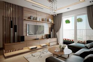 thiết kế thi công nội thất căn hộ chung cư Stellar Garden 14