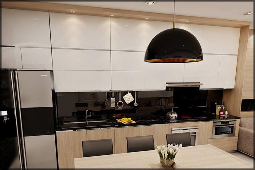thiết kế thi công nội thất căn hộ chung cư Stellar Garden 18