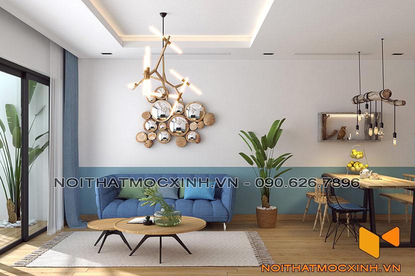 thiết kế thi công nội thất chung cư gold tower 275 nguyễn trãi 10
