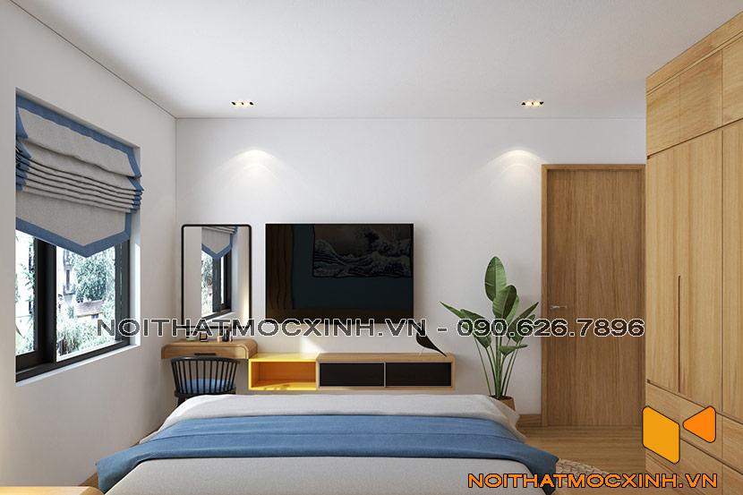 thiết kế thi công nội thất chung cư gold tower 275 nguyễn trãi 11