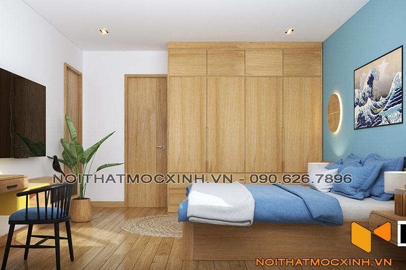 thiết kế thi công nội thất chung cư gold tower 275 nguyễn trãi 12