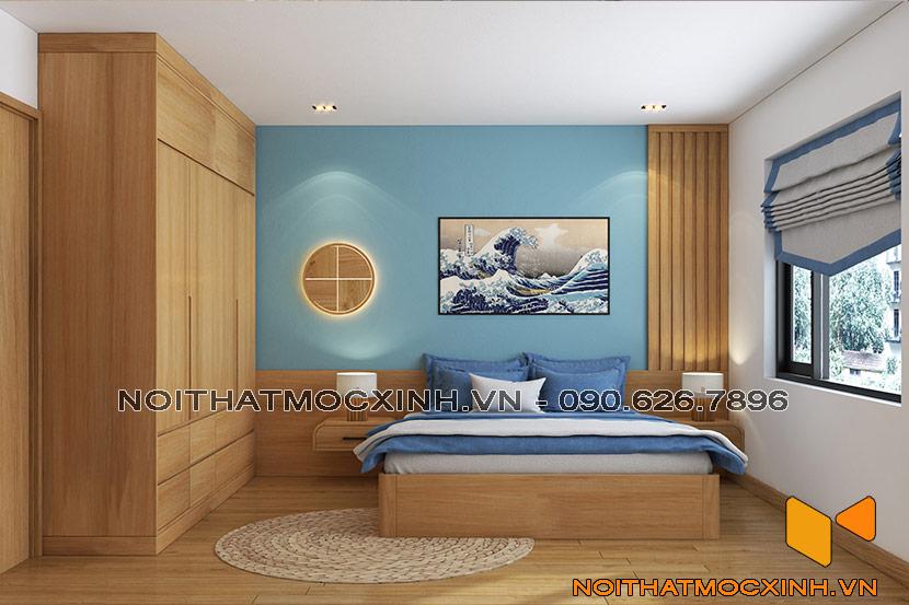 thiết kế thi công nội thất chung cư gold tower 275 nguyễn trãi 13