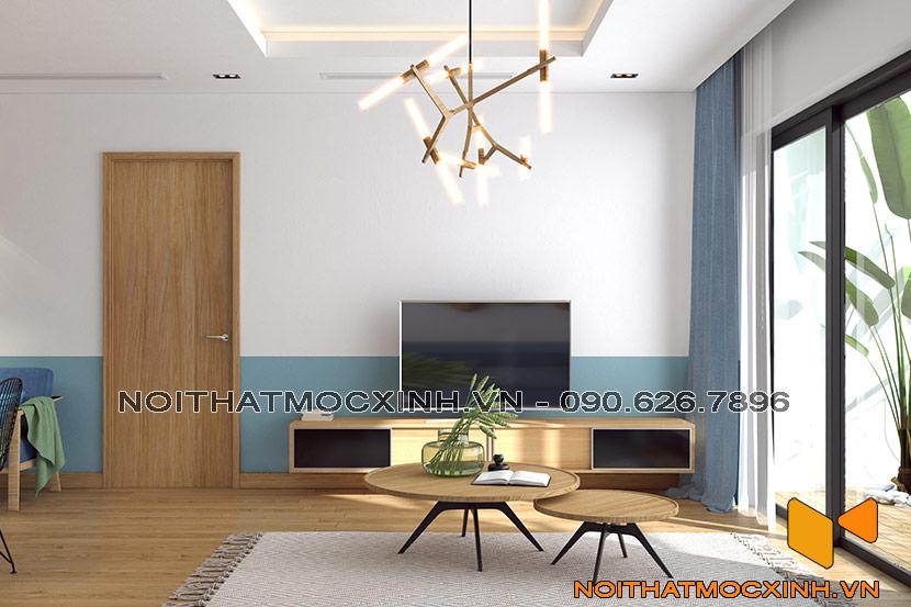 thiết kế thi công nội thất chung cư gold tower 275 nguyễn trãi 5