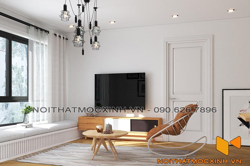 thiết kế thi công nội thất chung cư sunshine city ciputra tây hồ 1