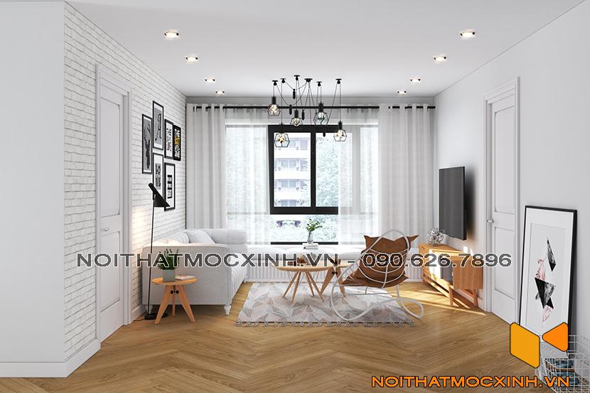 thiết kế thi công nội thất chung cư sunshine city ciputra tây hồ 2
