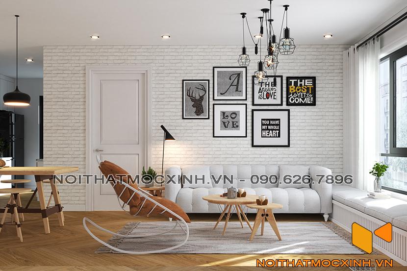 thiết kế thi công nội thất chung cư sunshine city ciputra tây hồ 3