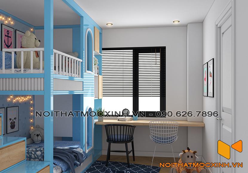 thiết kế thi công nội thất chung cư sunshine city ciputra tây hồ 6