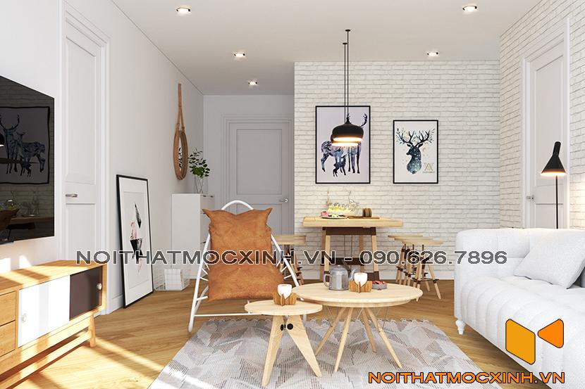 thiết kế thi công nội thất chung cư sunshine city ciputra tây hồ