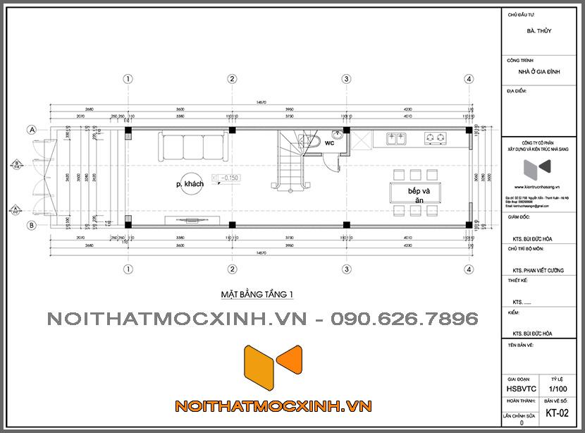 xây nhà liên kề trọn gói giá rẻ 180818 01