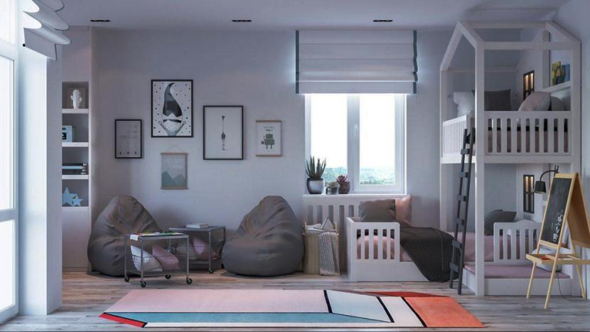 thi công thiết kế nội thất nhà phố hiện đại 040819 9