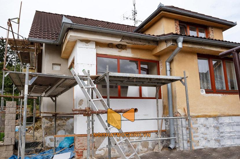 cải tạo nhà cũ thành biệt thự 5